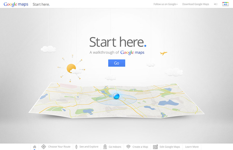 Google Maps Start Here : Evan Anthony